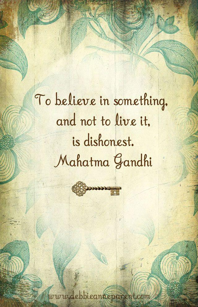 Ghandi saying